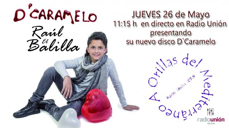 Raúl El Balilla nos presenta su nuevo disco en Radio Unión