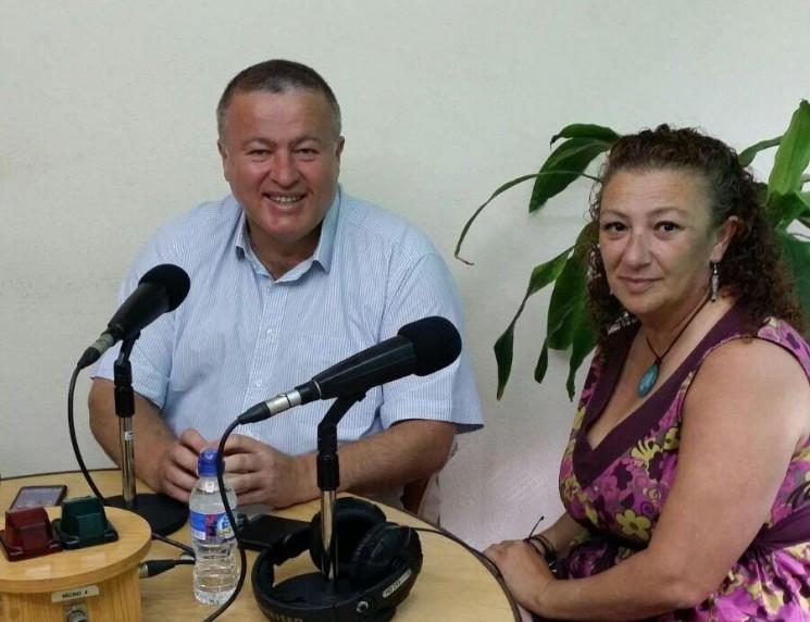 Paco Bernabé visitó los estudios de Radio Unión