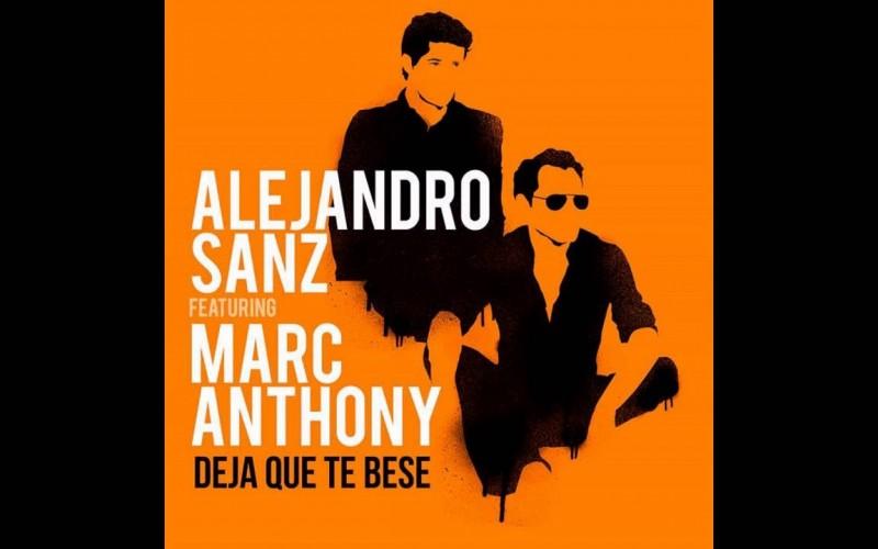 'Deja que te bese' lo nuevo de Alejandro Sanz y Marc Anthony