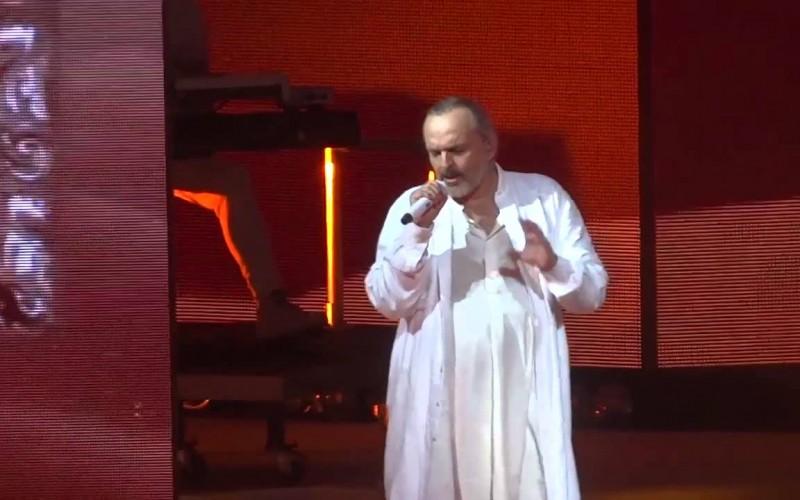 Miguel Bosé presenta su MTV Unplugged