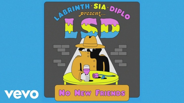 LSD – No New Friends (Official Video) ft. Labrinth, Sia, Diplo