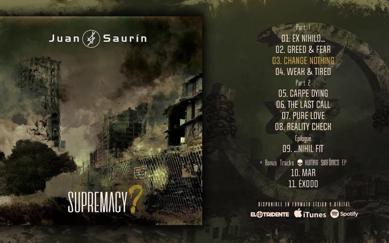 Juan Saurín «Supremacy»