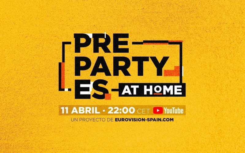 PrePartyES de Eurovisión se transforma en PrePartyES at Home!