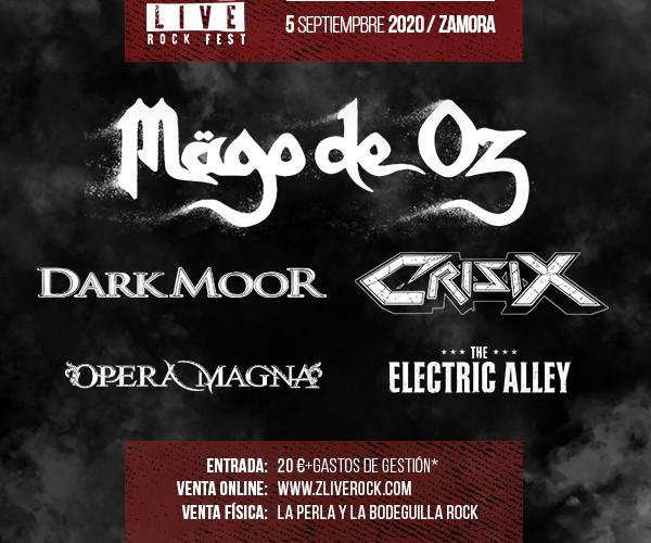 Z! LIVE ROCK LITE EDITION PRESENTA SU CARTEL PARA EL PROXIMO SEPTIEMBRE