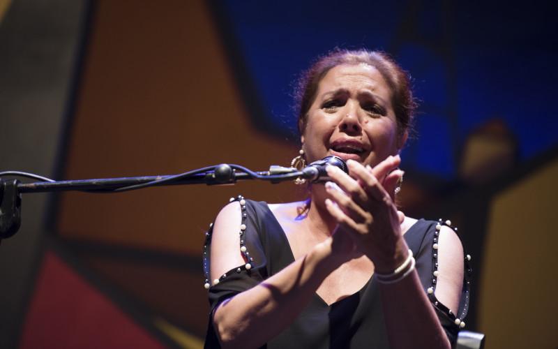 Lole Montoya, Rocío Márquez y Antonia Contreras en la última gala flamenca de FICM 59 edición 2.0