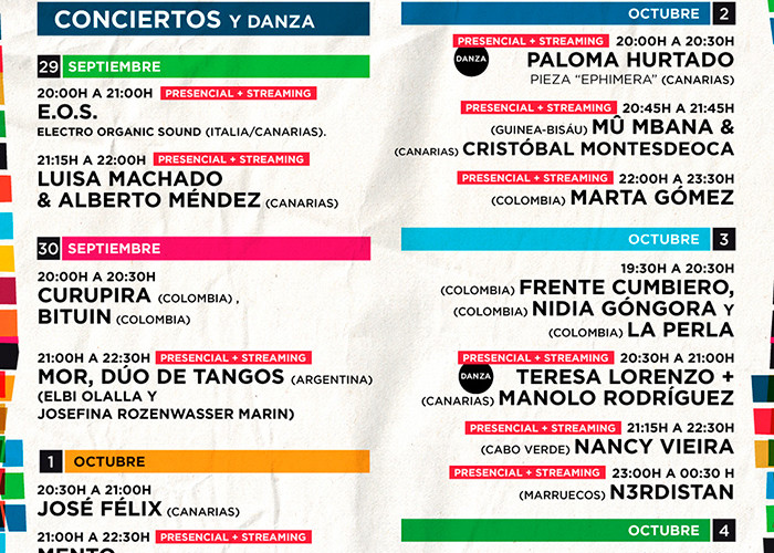 FESTIVAL BOREAL DE LOS SILOS EN TENERIFE PRESENTA UN AMPLIO PROGRAMA EN SU EDICIÓN DE 2020