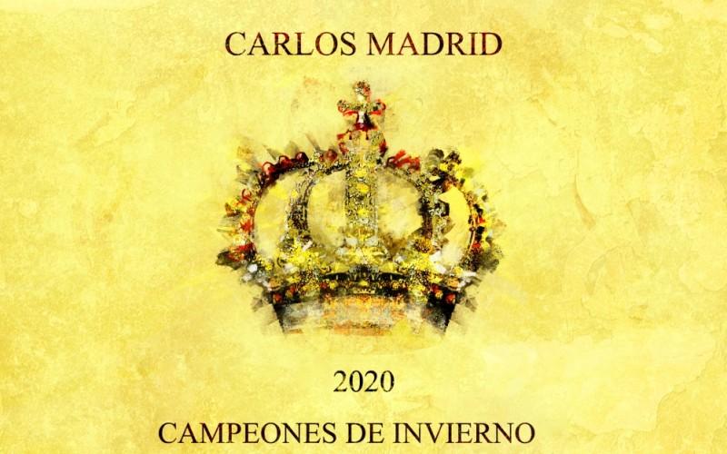 CARLOS MADRID PRESENTA «CAMPEONES DE INVIERNO»