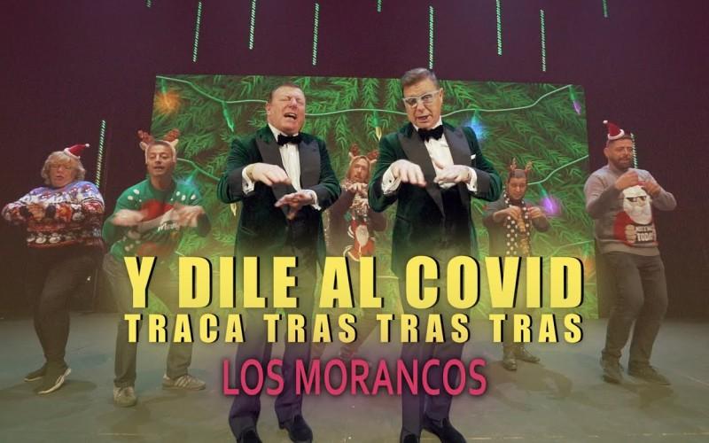 """LOS MORANCOS NOS FELICITAN LA NAVIDAD Y LE DAN AL COVID """"TRACA TRAS TRAS TRAS""""…"""