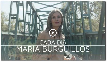 """MARÍA BURGUILLOS PRESENTA """"CADA DÍA"""""""