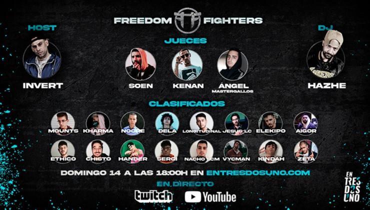 FREEDOM FIGHTERS, UNA DE LAS COMPETICIONES POR EXCELENCIA DEL UNDERGROUND ESPAÑOL, LLEGA A ENTRESDOSUNO