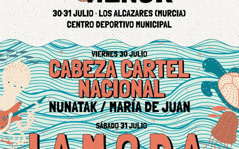 LIVE MAR MENOR DE LOS ALCÁZARES ANUNCIA FECHAS Y CARTEL PONIENDO EN VALOR EL TURISMO CULTURAL