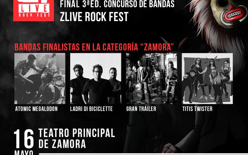 3ª EDICION CONCURSO DE BANDAS Z! LIVE LOS DIAS 15 Y 16 DE MAYO EN BENAVENTE Y ZAMORA