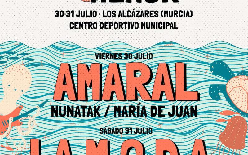 LIVE MAR MENOR 30 Y 31 DE JULIO EN LOS ALCÁZARES, DENTRO DEL RECINTO DEL CENTRO DEPORTIVO MUNICIPAL